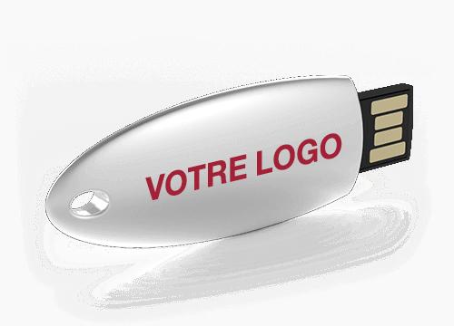 Ellipse - Clef USB Personnalisée