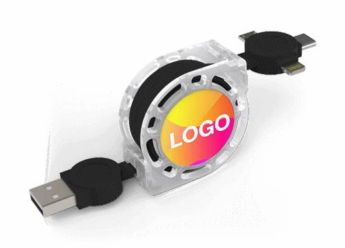 Motion - Câble de Charge Personnalisé