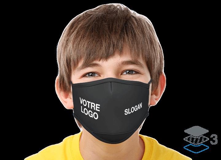 Junior - Masques réutilisables personnalisables