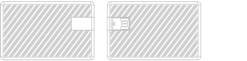 Carte USB Gravure laser