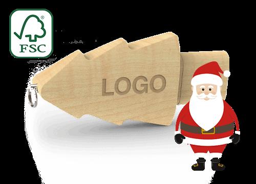 Christmas - Clés USB Personnalisées