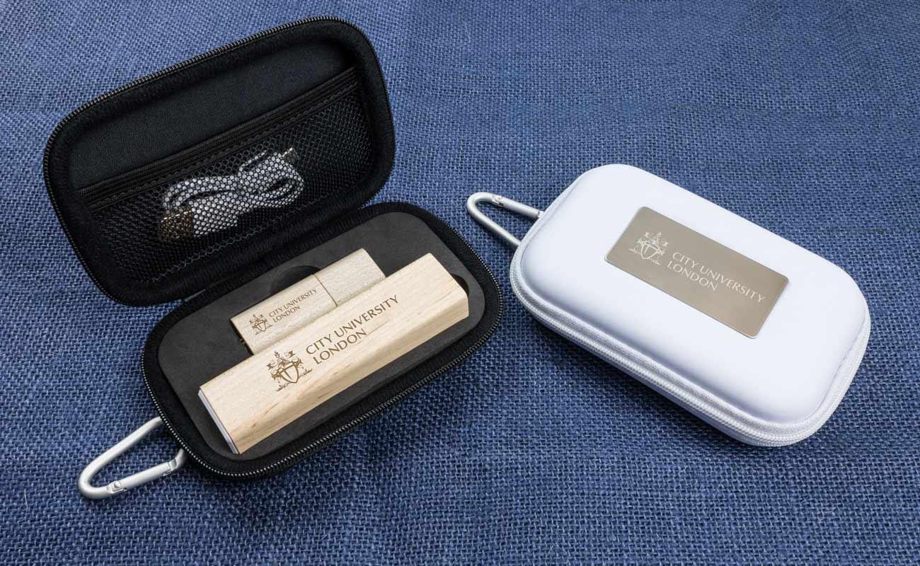 Maple S - Clé USB Personnalisée et Lot Power Bank