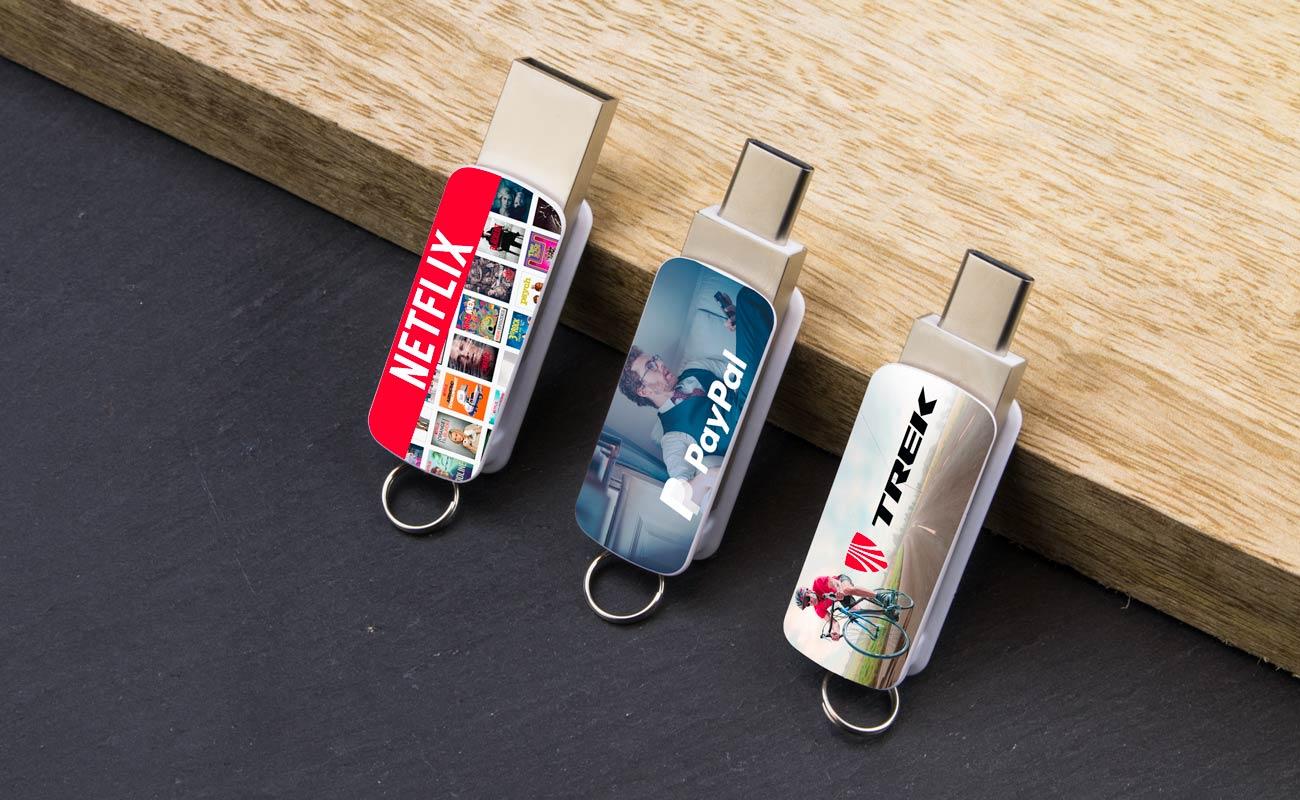 Orbit - Clé USB Personnalisée