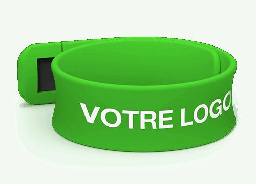Slap - Clé USB Bracelet Publicitaire