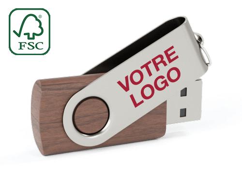 Twister Wood - Clés USB en Bois